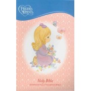 Precious Moments Holy Bible - Pink Edition by Thomas Nelson