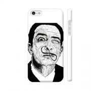 Colorpur Salvador Dali Artwork On Apple iPhone 5 / 5s Cover (Designer Mobile Back Case) | Artist: Rohit Panikker