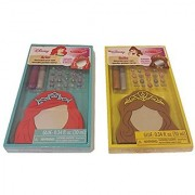 Melissa & Doug Disney Princess Decorate Your Own Wooden Pocket Mirror Bundle Pack (2 pcs)