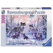 Arctic Wolves 1000 Piece Jigsaw Puzzle Made by Ravensburger