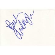 Audrey Quock Autographed Index Card