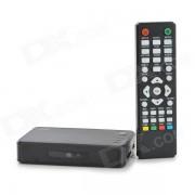 Mini 1080P Full HD Media Player w/ HDMI / USB / SD / VGA - Black
