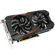 Видеокарта Gigabyte GeForce GTX 1050 Windforce OC 2G, GDDR5, 128bit, DP1.4, HDMI 2.0b 3, Dual-link DVI-D, GA-VC-N1050WF2OC-2GD