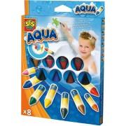 SES Creative stiften, 'Stiften voor badkuip 8 kleuren Aqua'