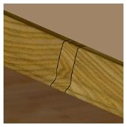 PBL505.159-S4 - Set 4 bucati piese legatura culoarea stejar vechi pentru plinta PBC505