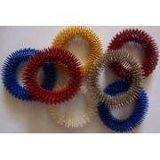 Su-Jok színes csukló-kar masszírozó gyűrű