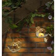 2 Lampi de gradina cu lumanare