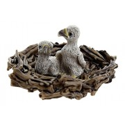 Schleich Baby Eagles in Nest Toy Figure