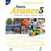 Nuevo Avance 5 Exercises Book + CD B2.1 by Maria Dolores Martin