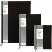 Registru A5, 96 file, 90g/mp, coperti carton rigid, PUKKA Black - dictando