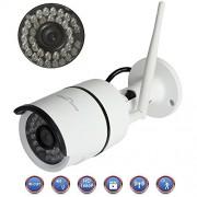 Sidiou Group Nube IP 1080P HD Cámara IP completa HD Las cámaras de vigilancia de la cámara WIFI Wireless IP impermeable al aire libre la visión del vídeo de detección de movimiento de la cámara Noche