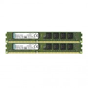 Kingston KVR13N9S8K2/8 Memoria RAM da 8 GB, 1333 MHz, DDR3, Non-ECC CL9 DIMM Kit (2x4 GB), 240-pin, 1.5 V
