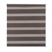 Zebra Blind 120 x 175 cm Coffee