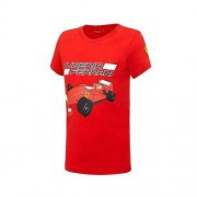Acer T-shirt niemowlęcy Race Car red Ferrari F1 Team 2016