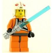 Lego Minifig Star Wars Luke Skywalker Pilot