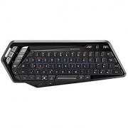 Mad Catz S.T.R.I.K.E.M Wireless Keyboard for Android and Windows Smart Devices PC and Mac - Gloss Black