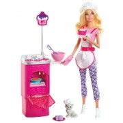 BARBIE I CAN BE DESSERT CHEF PLAYSET