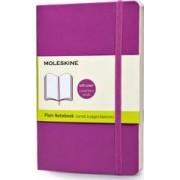 Moleskine Soft Cover Orchid Purple Pocket Plain Notebook by Moleskine