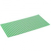TUMAMA Large Building Bricks Base Plate Supplement LEGO Compatible Construction Base with Smooth Corners and 20 x 10 Bi