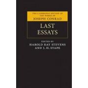 Last Essays by Joseph Conrad