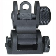 Yankee Hill Machine Co. Ar-15 Tactical Rear Sight - Ar-15 Flip-Up Tactical Rear Sight Black