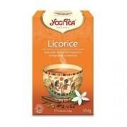 Yogi Tea, USA Herbata Z Lukrecją BIO (Yogi Tea) 17 saszetek po 1,8g