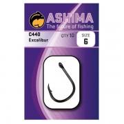 Carlige Crap Ashima Excalibur C440, 10 buc/plic