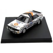 Trofeu - 1617 - Miniature veicolo - Audi Quattro - Clarion - Rally RAC 85 - Scala 1/43