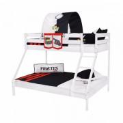 Dečiji krevet na sprat Maxim Beli Pirates Life