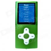 """HOTT MU820 1.8"""" TFT Sporting MP3 MP4 Player w / FM / Voice Recorder - Green (4GB)"""