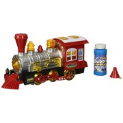 Bubble Maker Locomotive Steam Engine Toy Bubbles Making Battery Operated Train