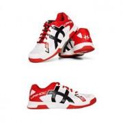 Unihoc Hallen Schuhe Unihoc U3 Speed `16 weiß / schwarz / rot Mann US 5 / UK 4 / EU 37 / 25 cm