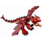 Set Constructie Lego Creator Creaturi Rosii