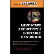 Landscape Architect's Portable Handbook by Nicholas T. Dines