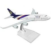 Thailand Boeing 747 16cm Metal Airplane Models Child Birthday Gift Plane Models Home Decoration
