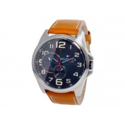Tommy Hilfiger Men's 1791004 Stainless Steel Watch with Leather Band