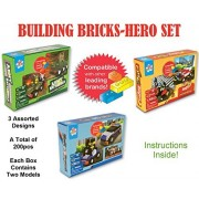 Building Bricks For Kids Lego Building Bricks Fire Truck, Police Car, And Army Tank Brick Building Sets