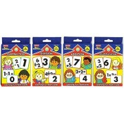 Fisher Price Little People Learning Flash Cards: Subtraction, Multiplication, Division, & Addition
