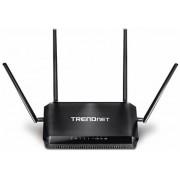 Router Wireless TRENDnet TEW-827DRU, Gigabit, Dual Band, 2600 Mbps, 4 Antene externe (Negru)