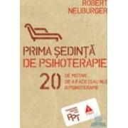 Prima sedinta de psihoterapie - Robert Neuburger