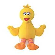 "GUND 075934 ""Sesame Street Big Bird Beanbag"" Plush Toy"