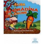 Elisa in gradina de legume