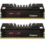 Mémoire PC HyperX Beast 2 x 4 Go DDR3-1866 PC3-14900 (KHX18C9T3K2/8X)