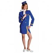 Meisjes stewardess pakjes