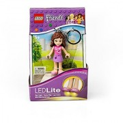 LEGO Friends Olivia Keychain Light - 2.75 Inch Perfect for Backpacks Keychains - Moving Parts Long Lasting LEDs