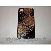 Couverture pour iPhone 4 et 4S (grand chrysanthème)
