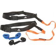 adidas Reaction Belt Schlingentrainer in schwarz/orange/blau