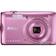 Aparat foto Nikon Coolpix A300, roz