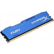HyperX FURY Blue 4GB 1600MHz DDR3 4GB DDR3 1600MHz geheugenmodule