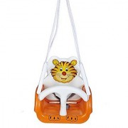 Toyboy Baby Musical Swing - With Multiple Age Settings 4 Stages (Orange)